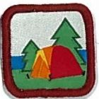 Canadian Camper Award:  [07  -Visit Scout Troop camp]