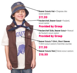 cdeaa20d Click here to see where your Beaver Scout's badges are to be placed